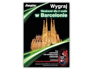 Wygraj weekend w Barcelonie z Energizer