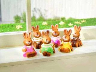 Wielkanocne ozdoby w sklepach sieci KiK.
