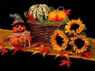Jak krok po korku przygotować dynię na Halloween