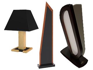 Lampy firmy Mebin.