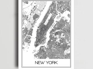 Plakat Nowy Jork – poczuj atmosferę wielkiego miasta