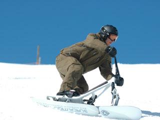 Historia snowscootingu