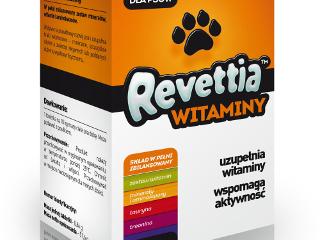 Suplement witaminowy dla psów Revettia.