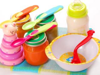 Zupki dla niemowląt.