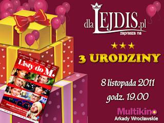 Impreza urodzinowa portalu dlaLejdis.pl w Multikinie Arkady
