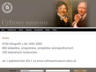 Cyfrowe Muzeum Starego Teatru