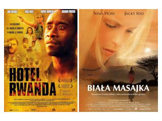 Przegląd filmów z Afryką w tle.