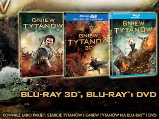 """""""GNIEW TYTANÓW"""" na DVD i Blu-ray."""