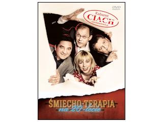 "DVD Kabaret Ciach ""Śmiecho-terapia na 20- lecie"""