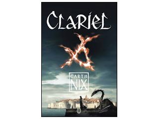 """Nowość wydawnicza """"Clariel"""" Garth Nix."""