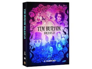 Tim Burton Kolekcja DVD (8 filmów) na DVD już od 18 maja.