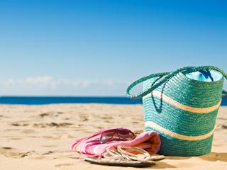 Idealna torba na plażę.