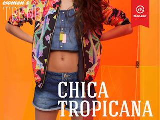 Tropikalna moda na lato w House.