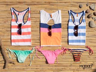 Gorące trendy w plażowej kolekcji MOODO - lato 2013.