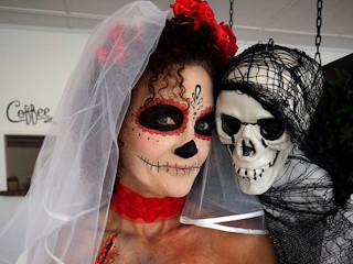 Przebranie na Halloween - zrób je sama.