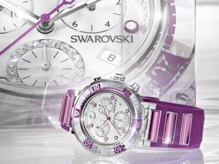 Kolekcja zegarków Swarovski na 2012 rok.