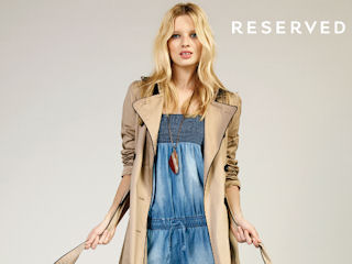WIOSENNY LOOKBOOK RESERVED