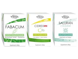 Trzy sposoby na zgrabną figurę z suplementami diety Vitana.