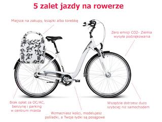 5 zalet roweru, czyli jak przyjemnie i zdrowo ułatwić sobie życie.