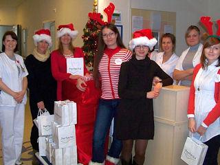 Kwiat Kobiecości już po raz piąty niesie nadzieję: Akcja Święty Mikołaj 2011