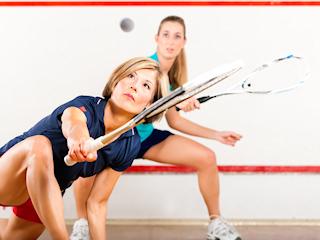 Squash – idealny sport dla kobiet.