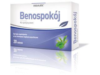 Benospokój- tabletki uspokajające