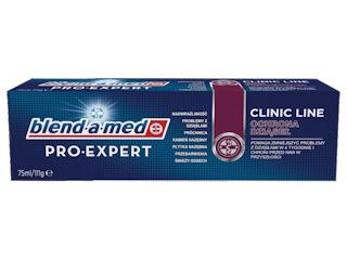Skuteczna ochrona zębów i dziąseł z pastą blend-a-med Pro-Expert Clinic Line Ochrona Dziąseł.
