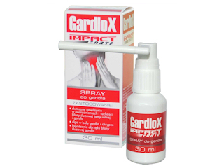 GardloX na ból gardła.