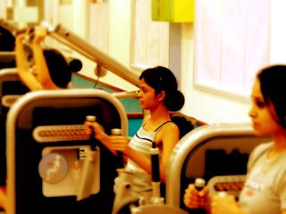 Odchudzanie na zajęciach fitness.
