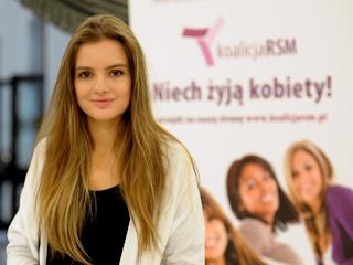 Maria Niklińska poparła Polską Koalicję na Rzecz Walki z Rakiem Szyjki Macicy!