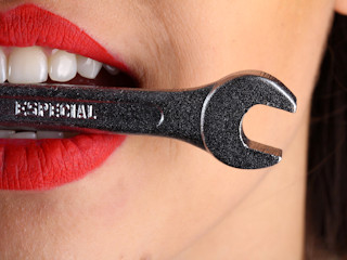 Irygator dla codziennej higieny jamy ustnej.
