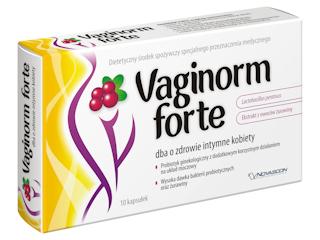 Zdrowie intymne kobiet z VAGINORM FORTE.