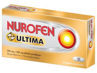 Nurofen Ultima – nowy lek w walce z bólem