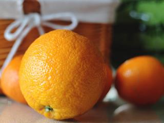 Olejek pomarańczowy jako wspomnienie wakacji.