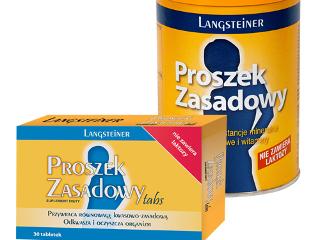 Proszek Zasadowy Langsteiner.
