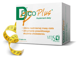Preparat DICOPLUS - potwierdzona klinicznie skuteczność w utracie zbędnych kilogramów.