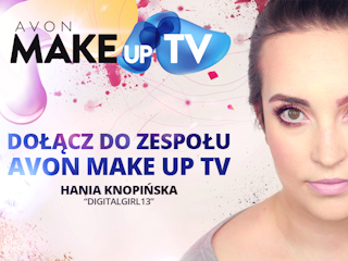 Praca jako redaktorka AVON MakeUp TV.
