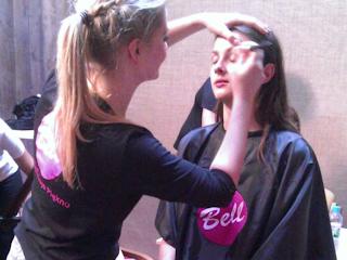 Uczestniczki The Look Of The Year w makijażach od Bell