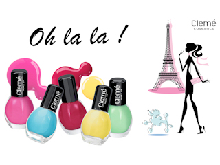 Mini lakiery do paznokci Oh la la!