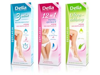 Jedwabiście gładka skóra na dłużej z nową linią kremów do depilacji Delia Cosmetics!