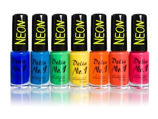 Podążaj za trendami z Delią Cosmetics – nowe lakiery No.1 NEON.
