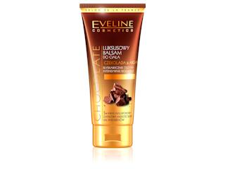 Luksusowy balsam do ciała Czekolada & Argan marki Eveline Cosmetics.