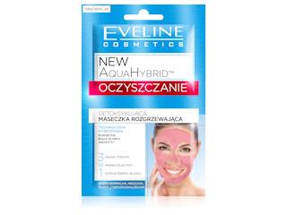 Detoksykująca Maseczka Rozgrzewająca OCZYSZCZANIE z linii New AquaHybridTM Eveline Cosmetics.