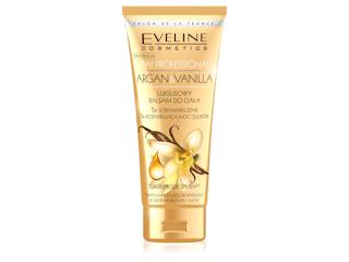 Luksusowy Balsam do ciała ARGAN&VANILLA Eveline Cosmetics.