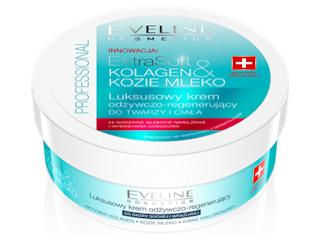 Luksusowy krem odżywczo-regenerujący do twarzy i ciała z linii Extra Soft marki Eveline Cosmetics.