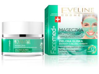 Facemed+ Maseczka Oczyszczająco-Wygładzająca Eveline Cosmetics.