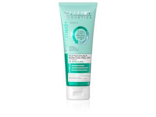 Oczyszczająca maseczka PEEL-OFF do twarzy ze spiruliną 3 w 1 z linii Facemed+ Eveline Cosmetics