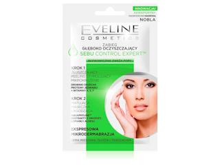 SEBU CONTROL EXPERT - ZABIEG GŁĘBOKO OCZYSZCZAJĄCY EKSPRESOWA MIKRODERMABRAZJA Eveline Cosmetics.
