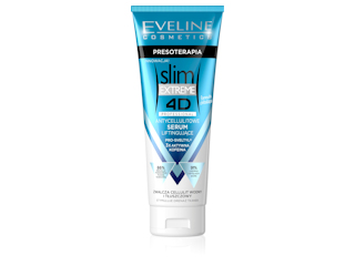 ANTYCELLULITOWE SERUM LIFTINGUJĄCE z serii SLIM EXTREME 4D PROFESSIONAL Eveline Cosmetics.