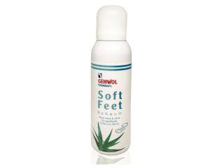 Głęboko nawilżająca i pielęgnująca pianka Gehwol Fusskraft Soft Feet